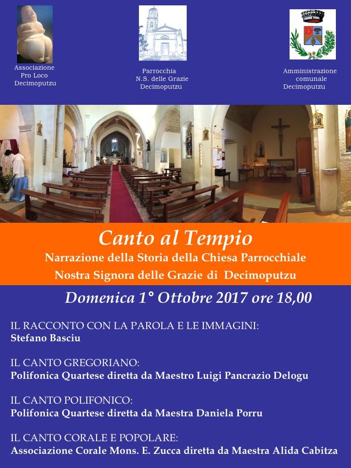 Canto al Tempio 2017